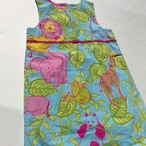 Lilly Pulitzer San Diego zoo girls dress